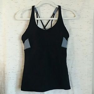 Athleta workout tank top  black size small
